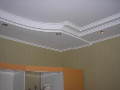 Отделка и дизайн потолков