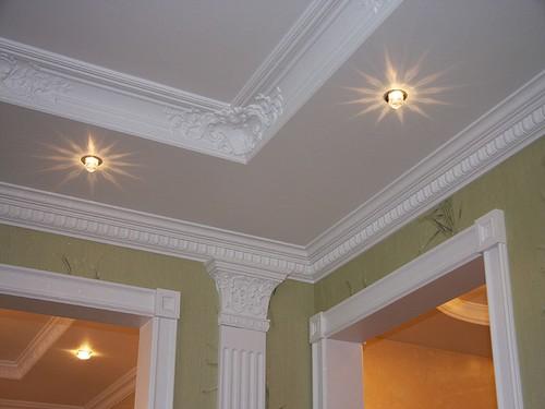 Дизайн подвесного потолка из гипсокартона. потолка из гипсокартона